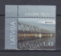 Latvia 2018 Mi 1044 Used Europa,bridges - Latvia