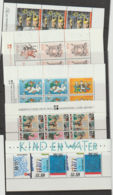 Nederland Kinderbedankkaarten 1981-82-83-84-88  MNH Blokken In Orginele Envelopen. MNH - Blocks & Sheetlets
