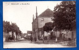 Meuilley  -  Grande Rue - France