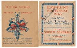 BONS DE LA DEFENSE NATIONALE (Différentes Dates) & Banque De L'Algérie & Emprunt National - Bons & Nécessité
