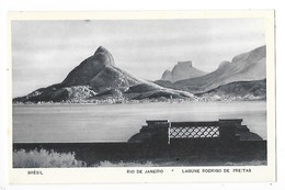 RIO DE JANEIRO  -  Lagune RODRIGO De FREITAS.  -  L 1 - Rio De Janeiro
