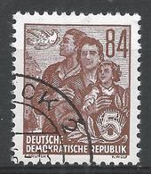 German Democratic Republic 1953. Scott #204 (U) Dove And East German Family * - [6] Democratic Republic