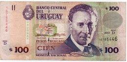 URUGUAY 100 PESOS 2003 P-85 - Uruguay