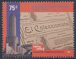 """Argentina 2004 Mi 2936 SG 3066 ** Cent. """"El Coleccionista"""" / Vereinszeitschrift Briefmarkensammlerverein Rosario - Ongebruikt"""