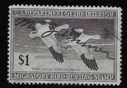 Etats Unis - Migratory Bird Hunting Stamp - 1948 - B/TB - Duck Stamps