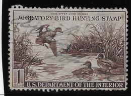 Etats Unis - Migratory Bird Hunting Stamp - 1943 - B/TB - Duck Stamps