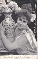Mme PAULETTE FILLIAN, OPERA SINGER. ALTEROCCA.  CIRCULE CIRCA 1934 TO CAIRO, EGIPT. TIMBRE ARRANCHE-BLEUP - Zangers En Musicus