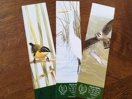 Marque Page Librairie Follas Novas Oiseaux - Bookmarks