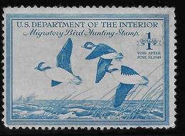 Etats Unis - Migratory Bird Hunting Stamp - 1949 - B/TB - Duck Stamps