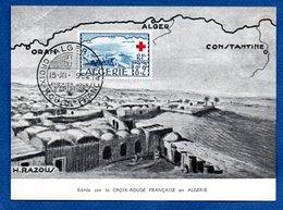Carte / Croix Rouge Française / Alger / 15-11-1952 - Algeria (1924-1962)