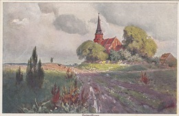 HEIMATFLUREN - Primus Postkarte - Künstlerkarten