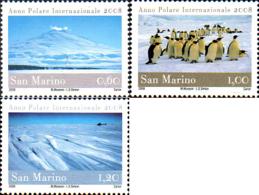 Ref. 223202 * NEW *  - SAN MARINO . 2008. A�O INTERNACIONAL POLAR - San Marino