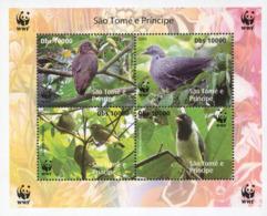 Ref. 216034 * NEW *  - SAO TOME AND PRINCIPE Islands . 2005. BIRDS. AVES - Sao Tome And Principe