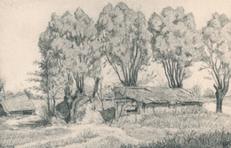 02) LE RIEZ : Carte Allemande Feldpost - Illustration (1915) (//) 1.WK - WW1 - Welkrieg - France
