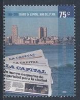 """Argentina 2006 Mi 2970 SG 3098 ** Cent. """"La Capital"""" Newspaper / Tageszeitung """"La Capital"""", Mar Del Plata - Argentinië"""