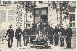 VILLACERF. 14 JUILLET 1907. FANFARE - France