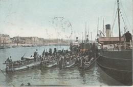 Pas-de-calais : BOULOGNE-sur-MER : Escadrille De Torpilleurs ( Au Dos Tampon Perlé Ponsas - Drome ) Colorisée - Boulogne Sur Mer