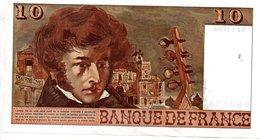 Billet De 10 Francs 1978 - 1962-1997 ''Francs''