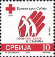 Ref. 220743 * NEW *  - SERBIA . 2007. RED CROSS. CRUZ ROJA - Serbia