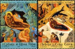 Ref. 191038 * NEW *  - SERBIA & MONTENEGRO . 2005. CHRISTMAS. NAVIDAD - Montenegro