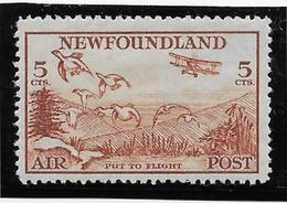 Terre Neuve Poste Aérienne N°13 - Neuf Avec Charnière - TB - Timbres