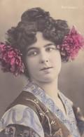 WINI GRABITS, OPERA SINGER, COLORISE. CIRCULEE 1906 GODESBERG TO SACHSEN-BLEUP - Zangers En Musicus