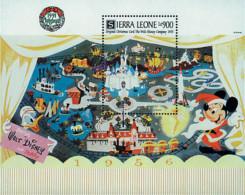 Ref. 572645 * NEW *  - SIERRA LEONE . 1991. CHRISTMAS CARDS. POSTALES DE NAVIDAD - Sierra Leona (1961-...)