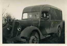 Photo Camion Militaire Ww2   9 X6 - Documents