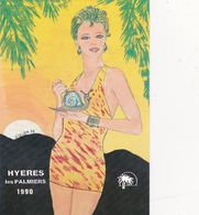 CPM Pirate Carte Pirate (83) HYERES 1990 Pin-up Sexy Glamour Escargot Tirage Limité Signée Illustrateur J.C. SIZLER - Collector Fairs & Bourses
