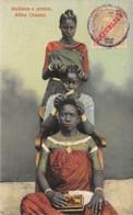Angola / 03 - Mulheres A Pentear - Africa Oriental - Belle Oblitération - Angola