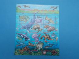 FEUILLET DE 12 TIMBRES NEUFS : ANNEE INTERNATIONALE DE L'OCEAN - New-York - Siège De L'ONU