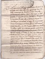 1716 - Régence  Louis XV - Law Ouvre Sa Banque -  BORDEAUX - Acte Notarié Cousu - 12 Pages Avec Notes - Manuscripts