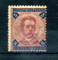 1891-96 REGNO N.64 * - Mint/hinged
