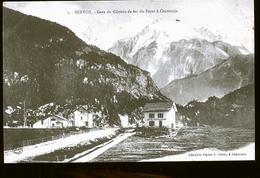 SERVOZ LA GARE        EN 1898 - Chamonix-Mont-Blanc