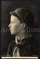 Photo Postcard / ROYALTY / Belgium / Belgique / Prince Baudouin / Prins Boudewijn - Scoutisme