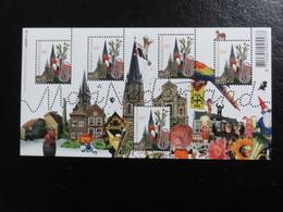 Pays-Bas - Bloc Mooi Nederland Sittard (carnaval, Trombone,perroquet) - Blocks & Sheetlets