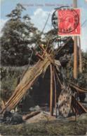 Australie / 83 - Aboriginal Camp - Herbert River - Belle Oblitération - Australia