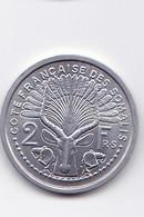 2 FRANCS -  Cotes Française Des Somalis - Somalie