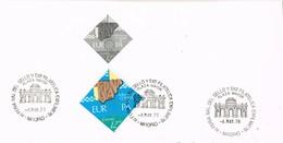 30482. Tarjeta MADRID 1978. Feria Sello EXFILMA 78. Plaza Mayor. Tema Europa - 1931-Hoy: 2ª República - ... Juan Carlos I