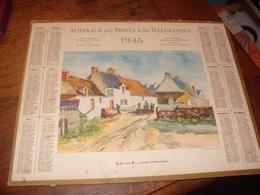 Almanach  Postes 1935  Département  Du Cher  Saillé Loire Inferieur - Calendriers