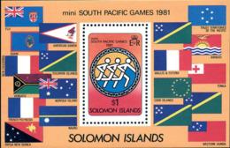 Ref. 45337 * NEW *  - SOLOMON Islands . 1981. SOUTH PACIFIC MINI SPORTS GAMES. MINI JUEGOS DEL PACIFICO SUR - Solomon Islands (1978-...)