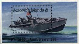 Ref. 45428 * NEW *  - SOLOMON Islands . 1993. 50 ANIVERSARIO DEL NAUFRAGIO DE LA LANCHA MOTORA RAPIDA PT 109 - Solomon Islands (1978-...)