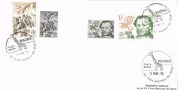 30483. Tarjeta MADRID 1979. Fereia Sello EXFILMA 79. Plaza Mayor. Tema Europa - 1931-Hoy: 2ª República - ... Juan Carlos I