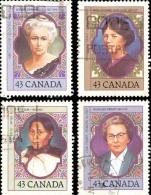 Canada (Scott No.1456-59 - Femme Avangadistes / Prominent Women) (o) - 1952-.... Règne D'Elizabeth II
