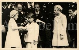 Photo Postcard / ROYALTY / Belgium / Belgique / Prince Baudouin / Prins Boudewijn / Inauguration Parc Parmentier / 1937 - St-Pieters-Woluwe - Woluwe-St-Pierre