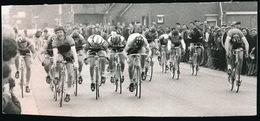 WOESTEN   --   1973  FOTO 15 X 6  CM   -  WESTHOEKPROEF WOESTEN SPURT GEWONEN DANNY CORNEILLE - Vleteren