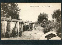 CPA - DUZERVILLE - Rue De La Surprise, Animé - Constantine
