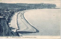 30485. Postal MERS Les BAINS (Somme) . Perspective De La Plage - Mers Les Bains