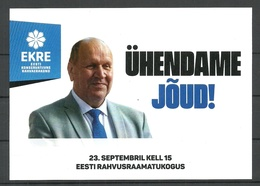 ESTLAND Politischer Wahlpropaganda 2018 EKRE - Estonie
