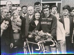 JONKERSHOVE  1973  FOTO 10 X è  CM   -  JAN VERFAILLE BIJ NIEUWELINGEN TE JONKERSHOVE - Houthulst